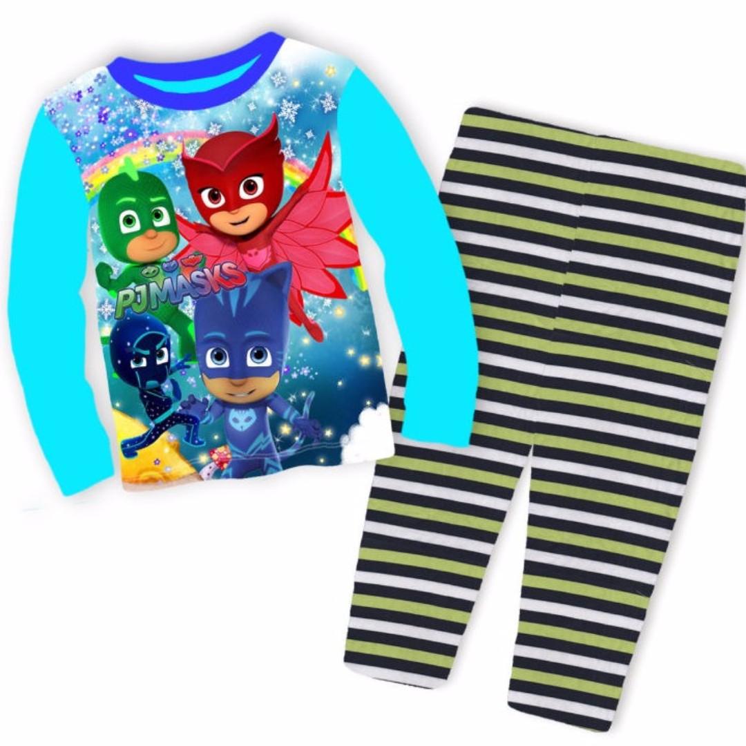 d058631d5669 Boys Clothing PJ Masks Cartoon Pyjamas CuddleMe SleepWear 8-12Y ...