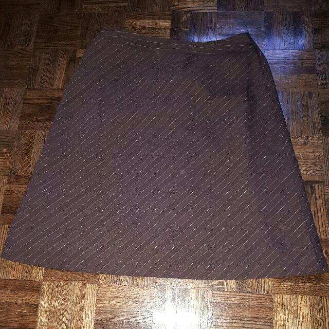 Brown Business Skirt (Jessica)