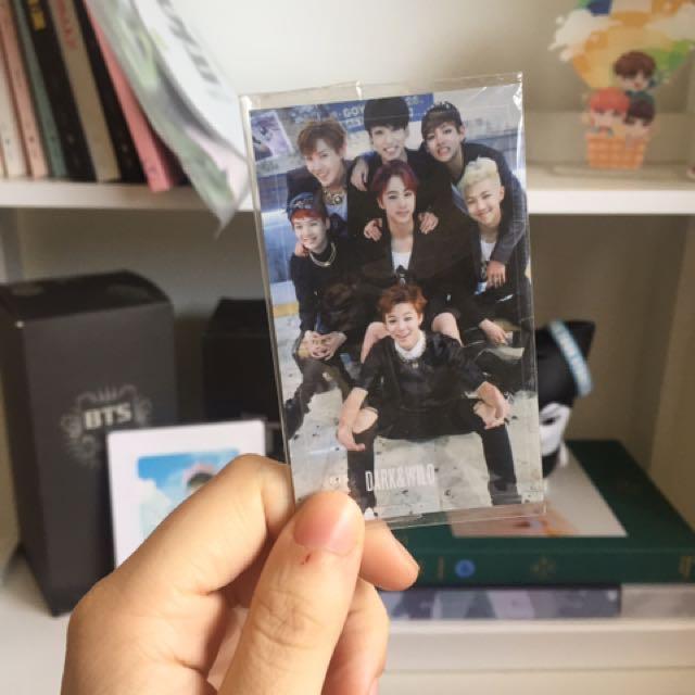 BTS DARK AND WILD GROUP PC
