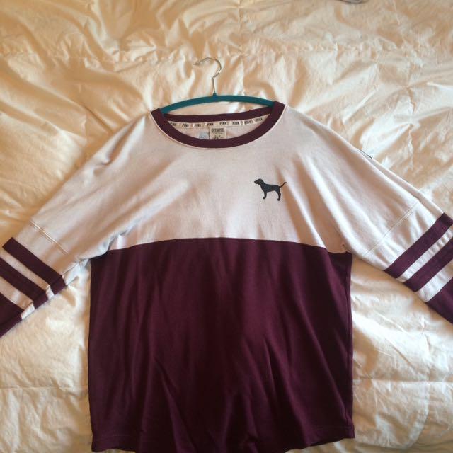 Burgundy PINK sweater