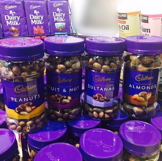 Cadbury Jars