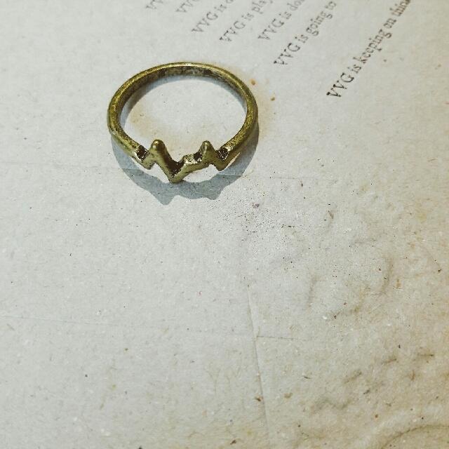 CAGE】古銅中性戒指