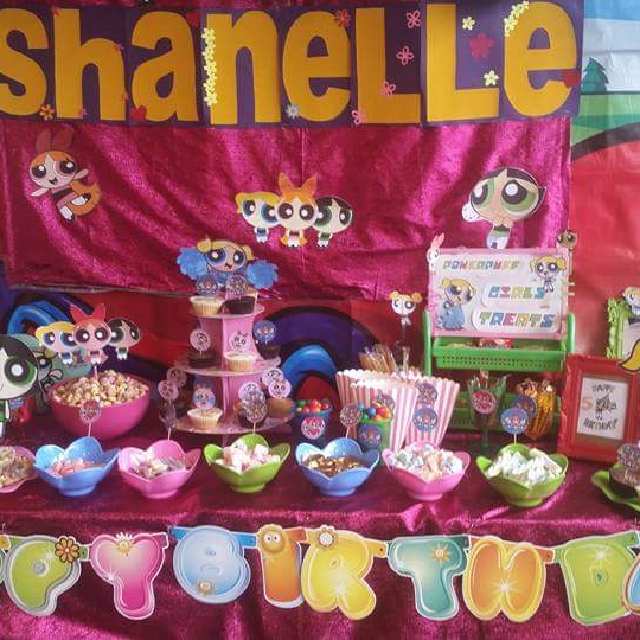 Candy Buffet Powerpuff Girls