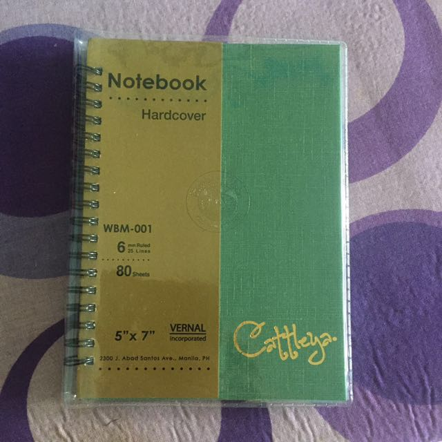 Cattleya Notebook Hardcover On Carousell