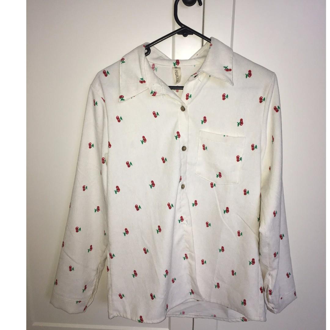 Cherry Shirt - Never Worn