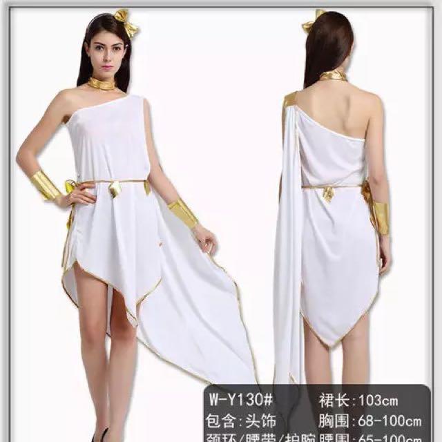 e7aff8ebf104 Cleopatra Egyptian Greek Goddess Costume Cosplay