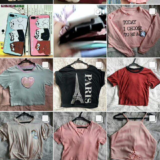 CLOTHES ALL FOR 100PHP EACH