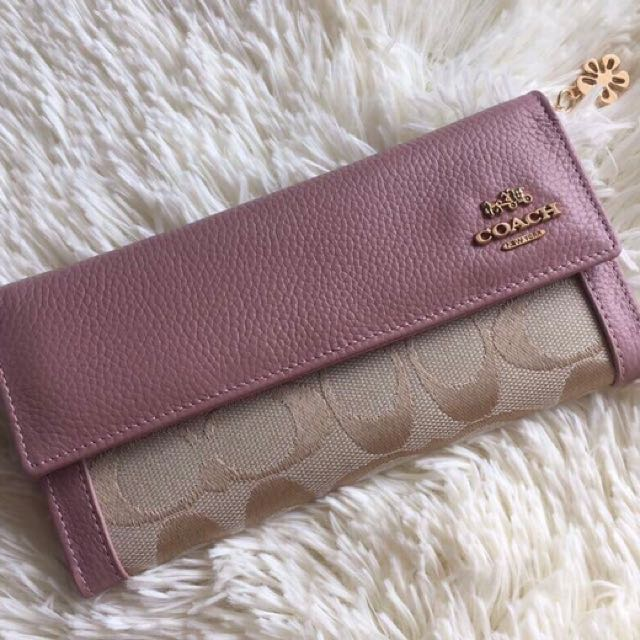 Coach Wallet Rose