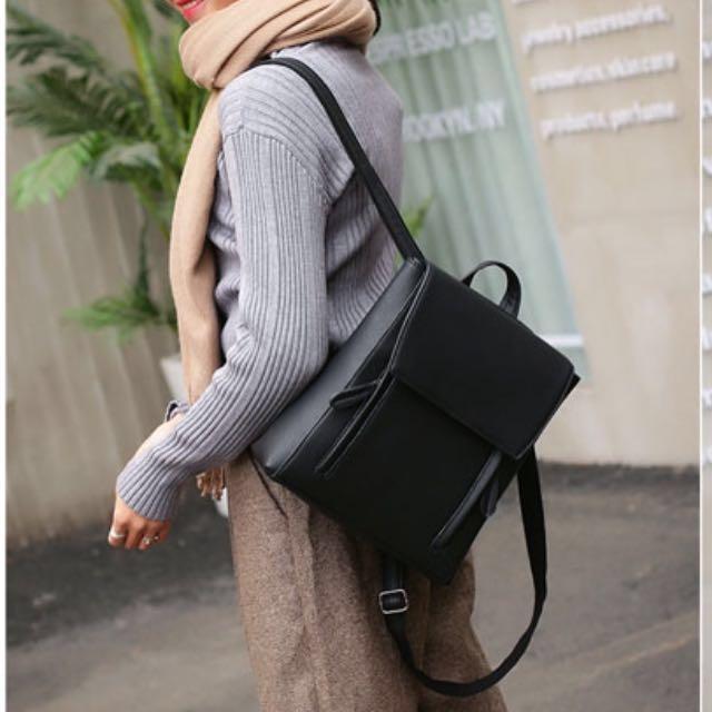 Convertible backpack and Handbag