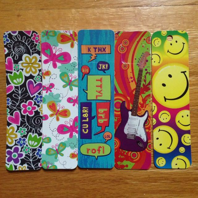 Cute Bookmarks (Back to school supplies)