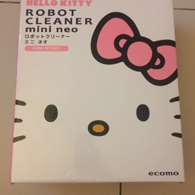 ecomo HELLO KITTY 掃地機器人 AIM-KTR01