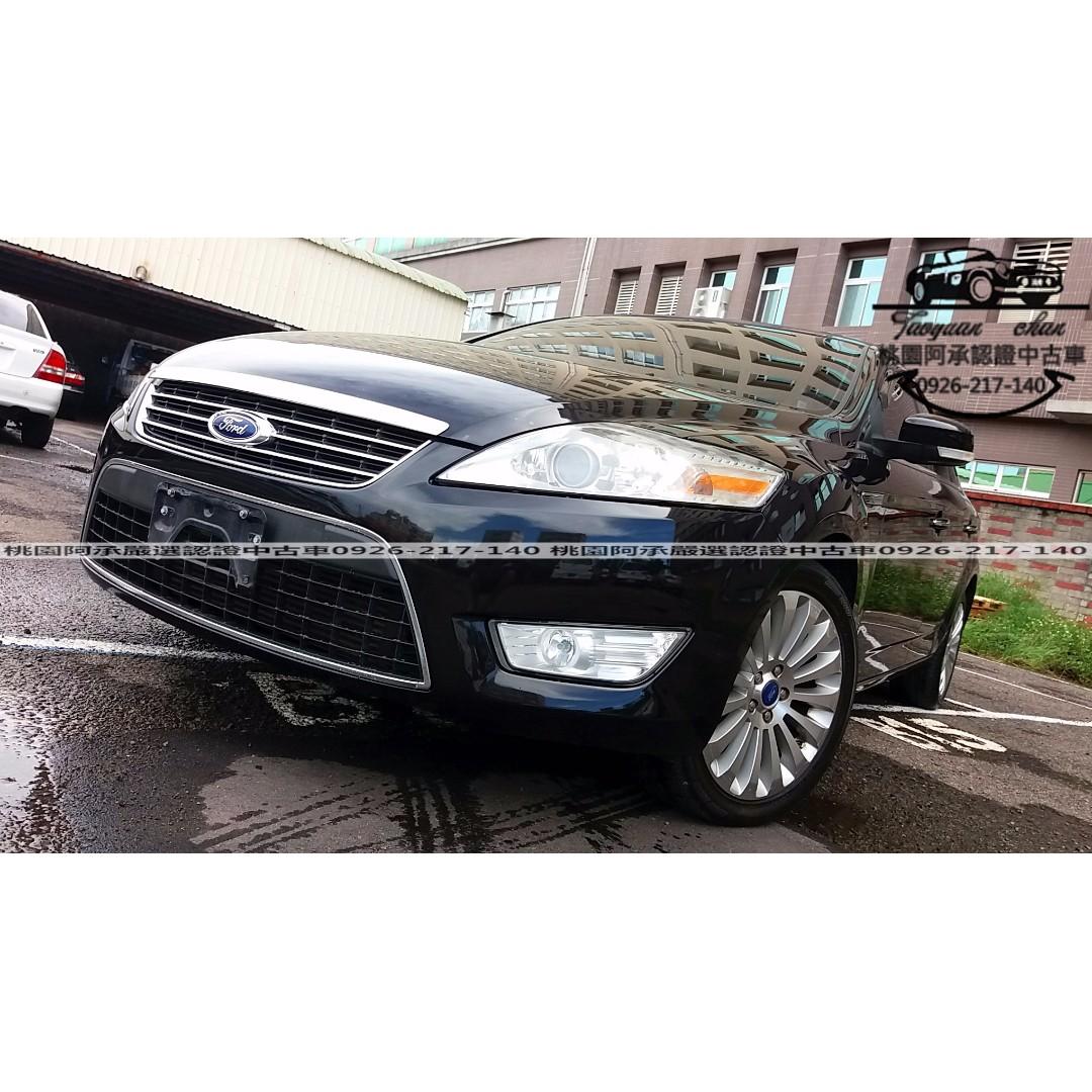 【FB搜尋桃園阿承】福特 超人氣MONDEO TDCI 2010年 2.0 黑色 二手車 中古車