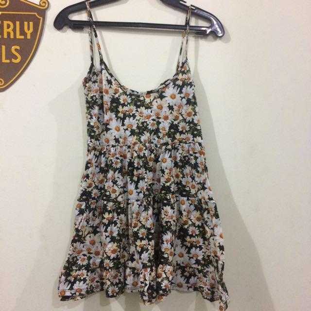 Floral Flowy Mini Dress