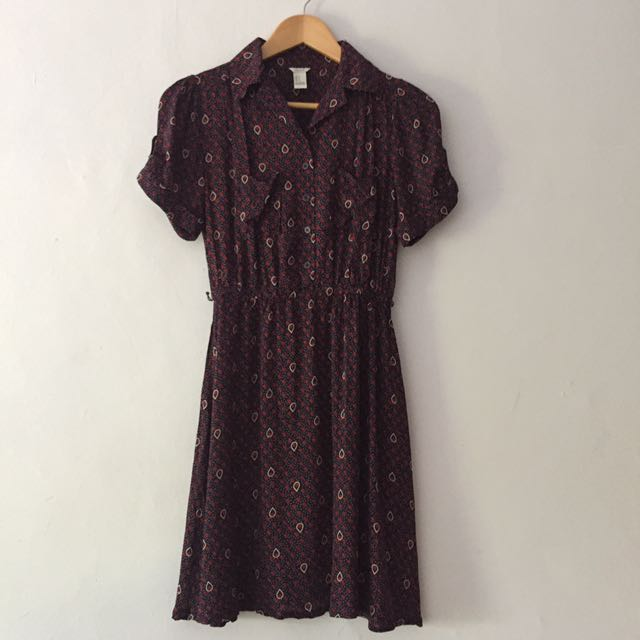 Forever 21 batik dress