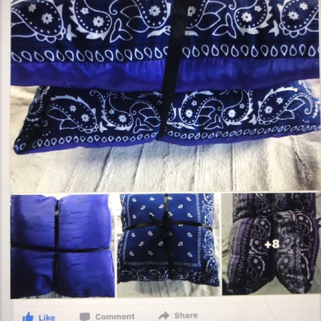 Gangster colour pillow sets