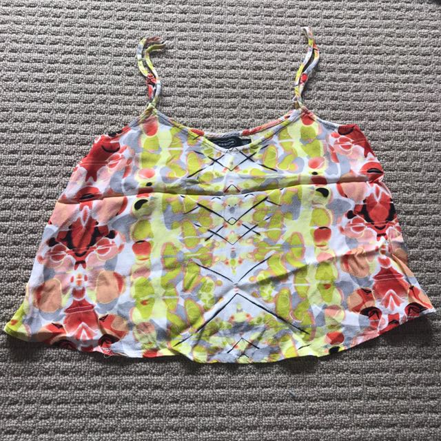 Glassons Patterned Crop