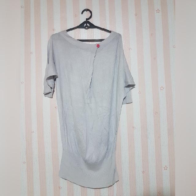 Grayish Loose Blouse size:s-m
