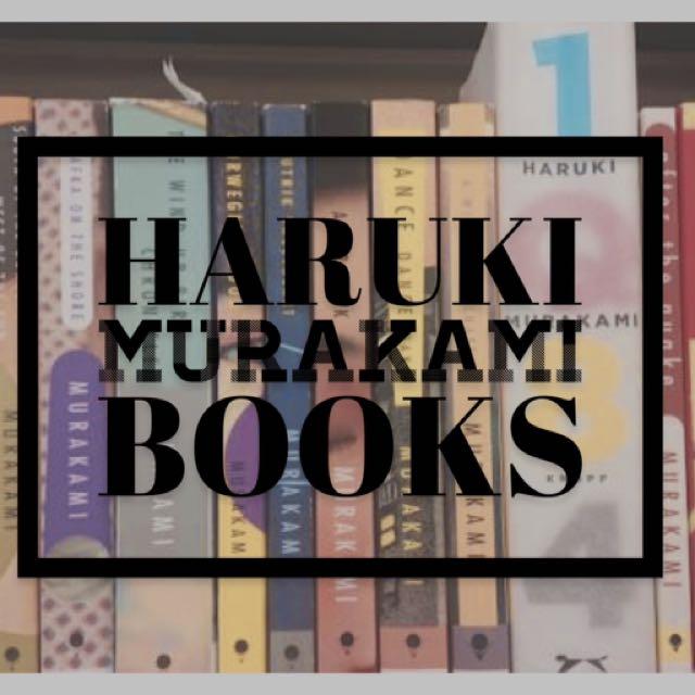 Harruki murakamj books