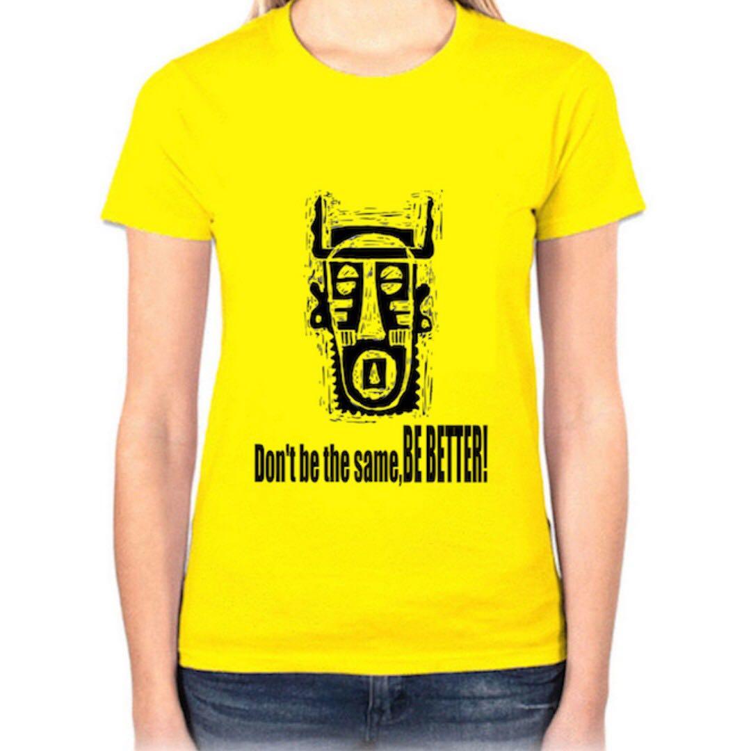 『非洲圖騰』HiCool機能性吸濕排汗圓領T恤