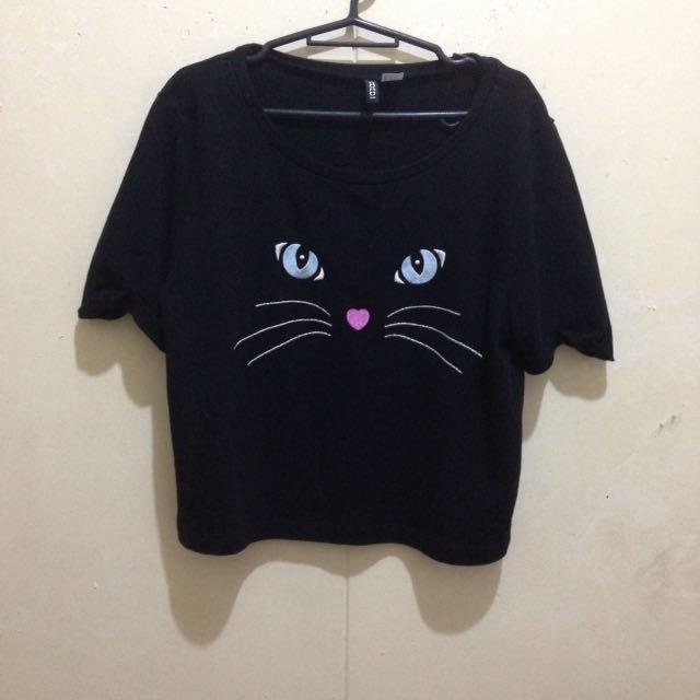 H&m Black Kitty