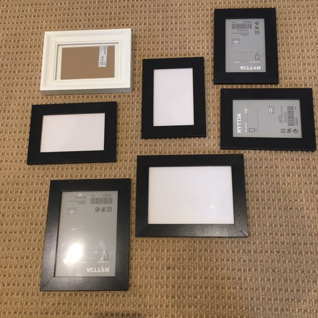 Ikea Photo Frames 1 Each Home Furniture Tools Diy On Carousell