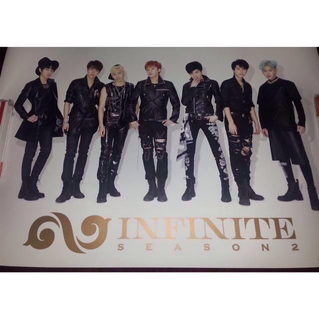 Infinite Poster- Season 2 (Version B) (Official, Kpop)
