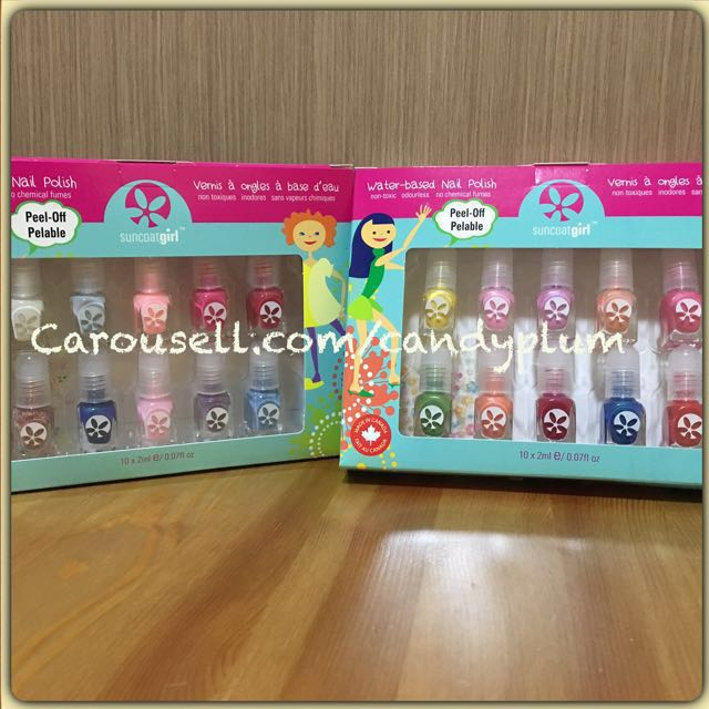 INSTOCK! Non-toxic Water-based Peelable Kids Nail Polish ...