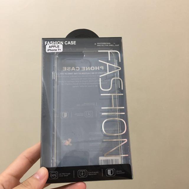 Iphone7plus氣墊防摔透明殼