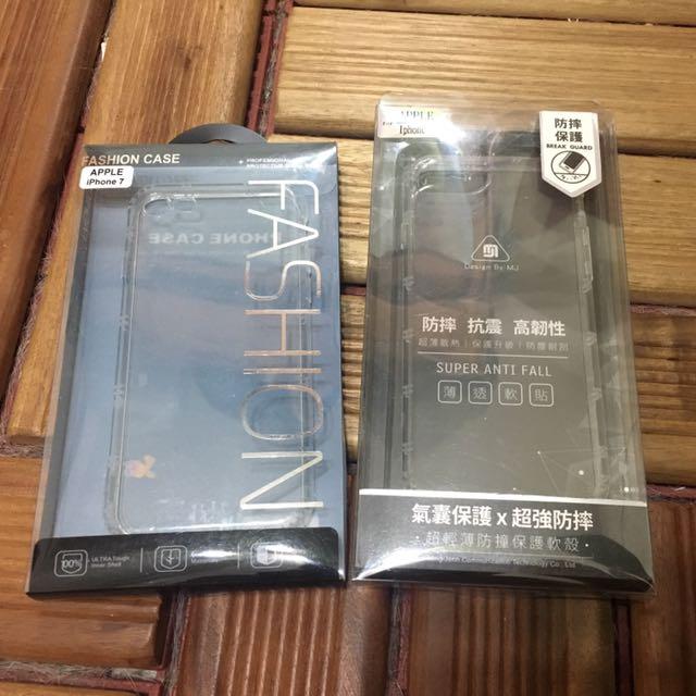 Iphone 7 透明氣墊防摔殼