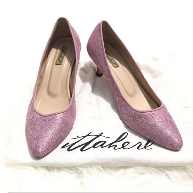 Ittaherl pink lace