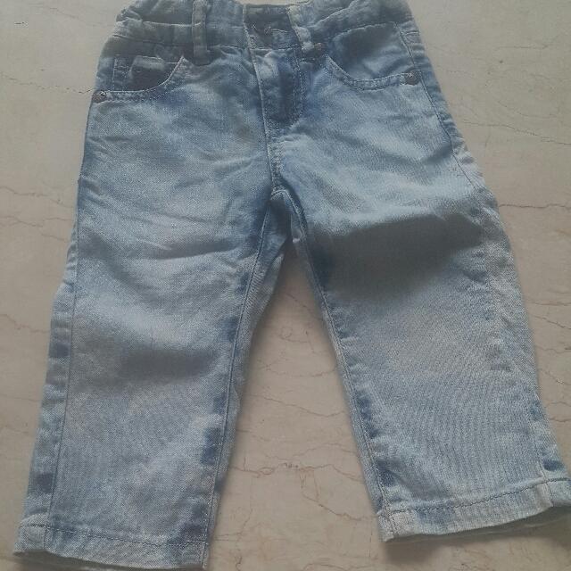 Jeans Guesa ori size 12 month big cutting