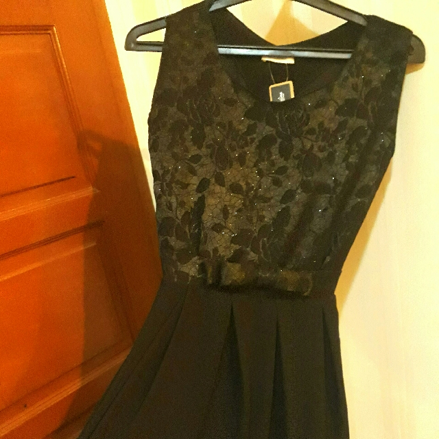 Jual Cepat Black Lace Dress