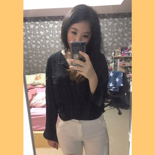 Juicegirls Black Long shirt
