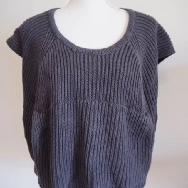 Jumper Top Slouch Knit