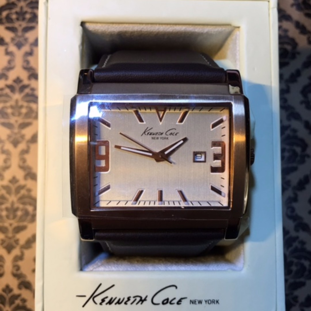 Kenneth Cole KS1826 Men's Quartz Stainless Steel Watch (Discontinued Model)