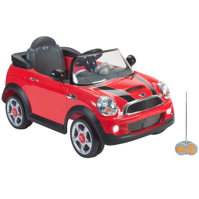 Kids Mini Cooper Electric Car Red Babies Kids On Carousell