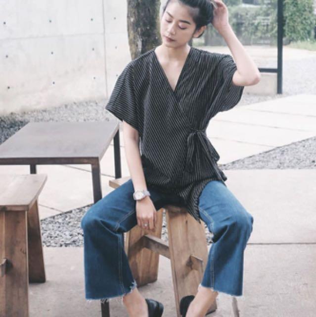 Kimono stripe @shopatleen