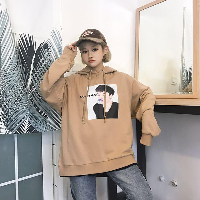 Korean oversized swag hoodies