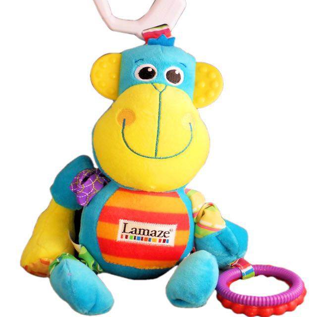 Lamaze morgan monkey plush toy babies kids toys walkers on photo photo photo publicscrutiny Choice Image