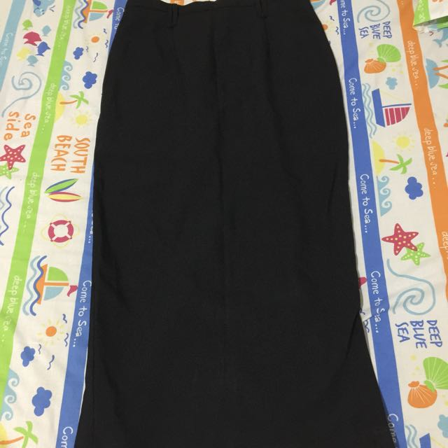 Long Black Skirt