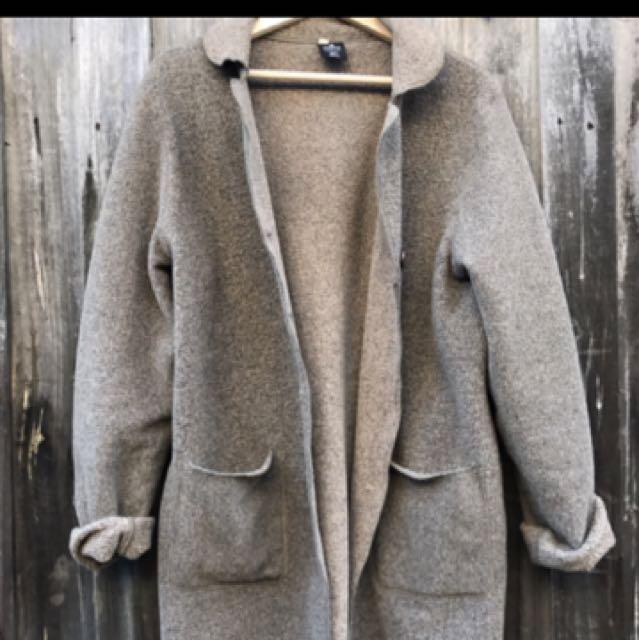 Long Fleece Coat