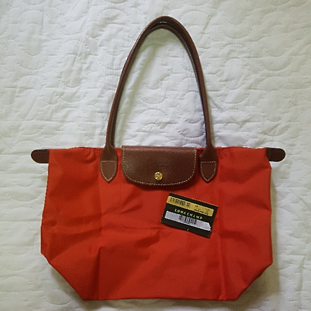 Available! Preloved Longchamp Le Pliage Small Longhandle