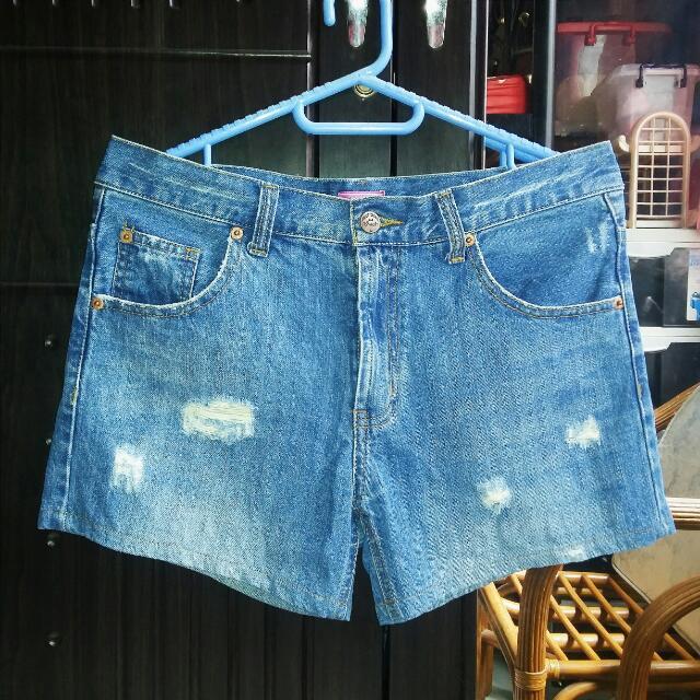 Maong Shorts