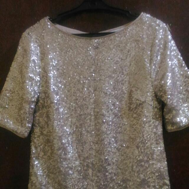 Marks And Spencers Sequins Top
