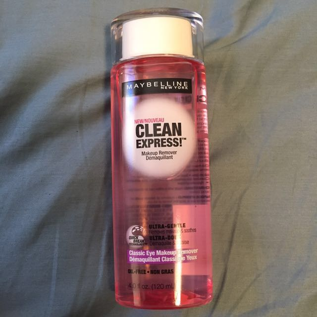 [Maybelline] Clean Express Makeup remover