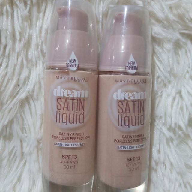 maybelline dream satin liquid foundation