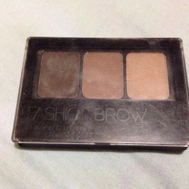 Maybelline Fashion Brow Palette (Dark Brown)