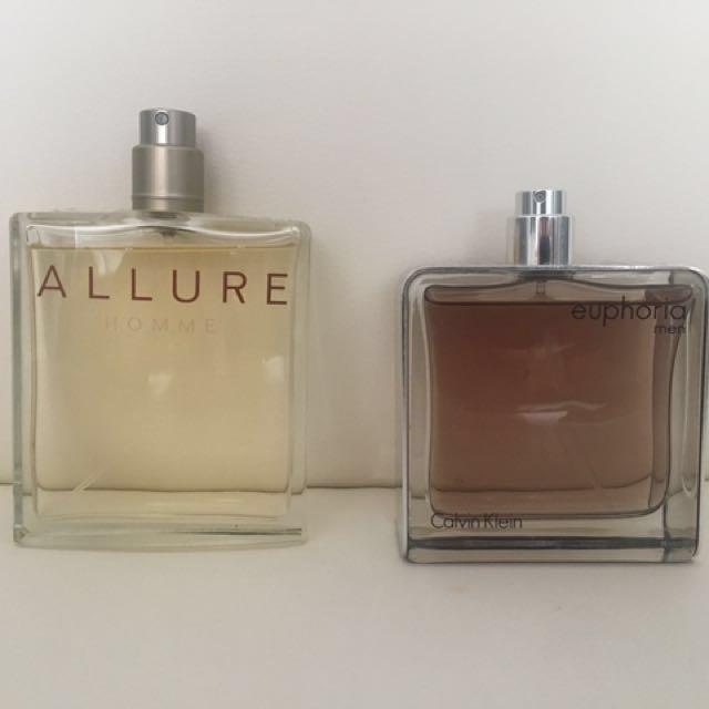 Men's authentic perfume