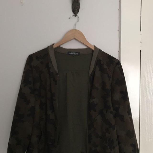 Milli Lulo Army Jacket
