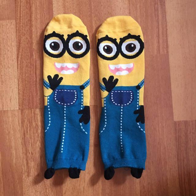 Minion socks
